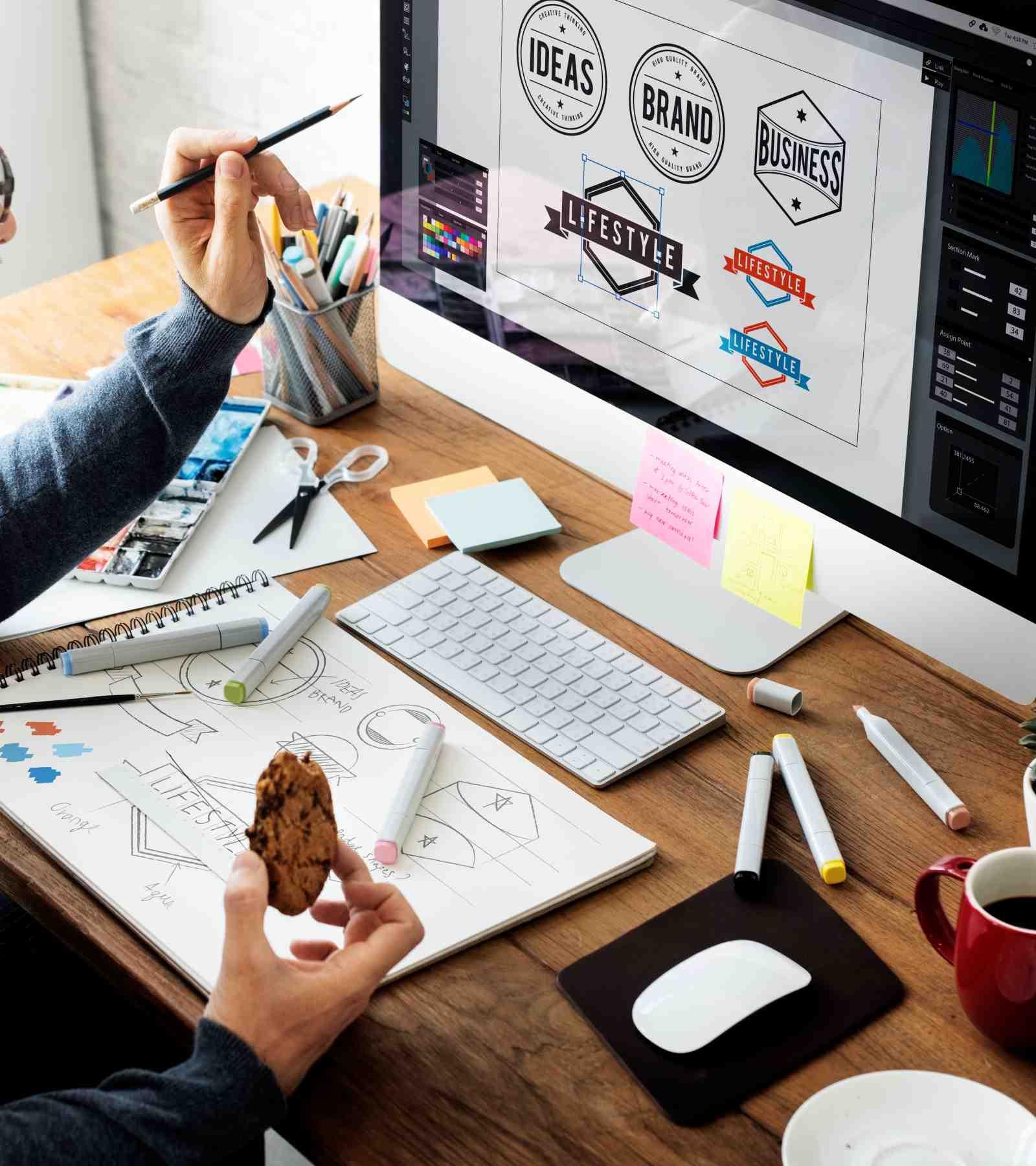 grafiche branding, logo, immagin pubblicitari, immagine coordinata